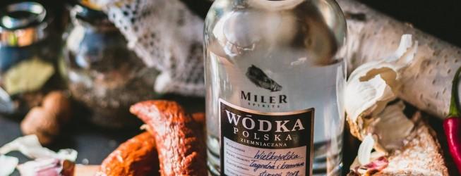 Wódka Miler Spirits z Wielkopolskich ziemniaków