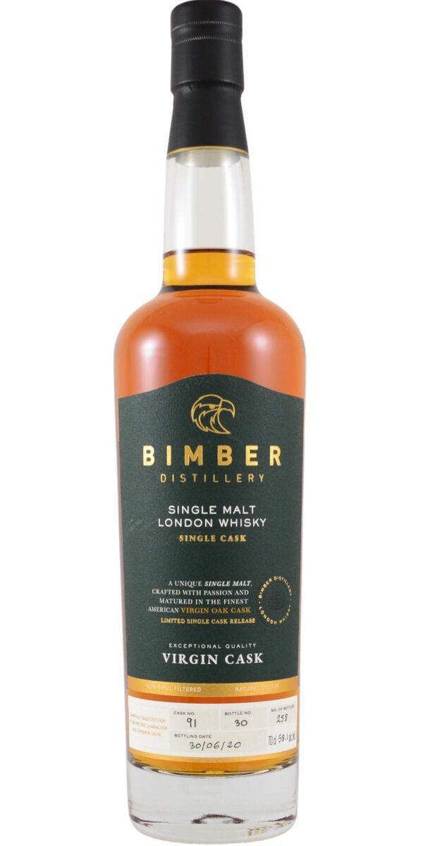 BIMBER SINGLE CASK VIRGIN #91